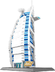 burj arab hotel dubai building blocks