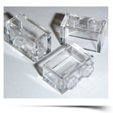 On SaleBuilding Accessories 1 X 2 Clear Transparent