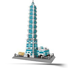 Taipei 101 Of Taiwan Building Blocks