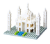 nanoblock architecture mahal hold majesty palm