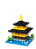 nanoblock kinkakuji temple representation part block