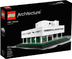 lego architecture villa savoye build brick