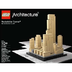 lego architecture rockefeller center icon deco