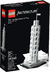 lego architecture leaning tower pisa historys